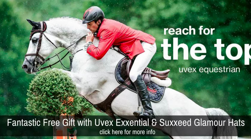 Close up of a horse rider from www.discount-equestrian.co.uk, one of the portfolio Magento websites of 67 Commerce